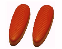 Microcel Recoil pad 23/92 imitation leather extrasoft Red