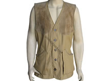 1 shooting vest cotton khaki LUX