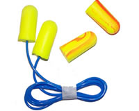 EAR SOFT YELLOW NEONS + CORDED